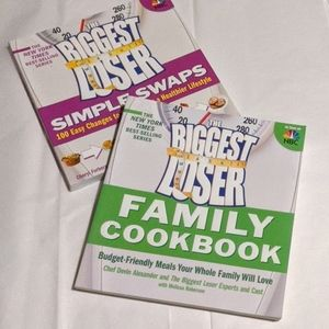 2 Books The Biggest Loser Cookbooks